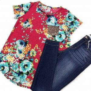 All For You Floral Top