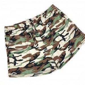 Above The Ranks Camo Lounge Shorts