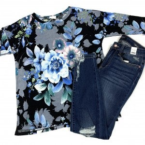 Dreaming Of  You Floral Top