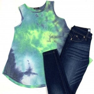 Easy Breezy TieDye Tank