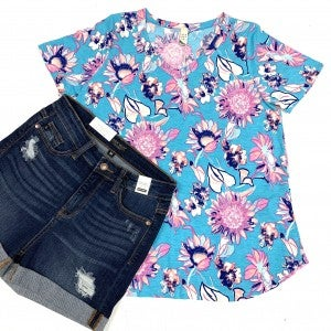 Meet You Anywhere Floral Top