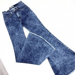 Judy Blue Acid High-Waist Super Flare