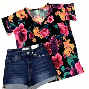 Fondest Farewell Floral Top