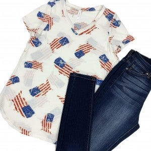 American Made USA Top