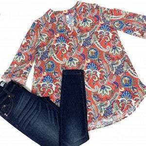 Always Remain The Same Paisley Top