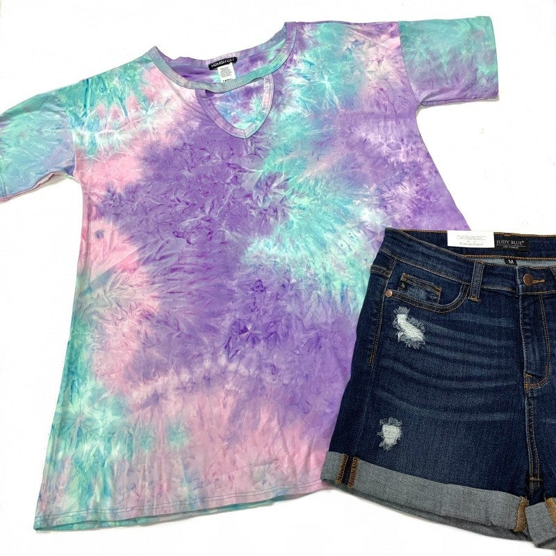 When Time Stood Still TieDye Top