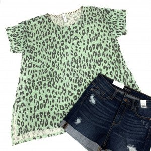 Counting Roar Time Leopard Top