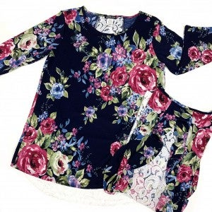Unforgettably Yours Floral Top