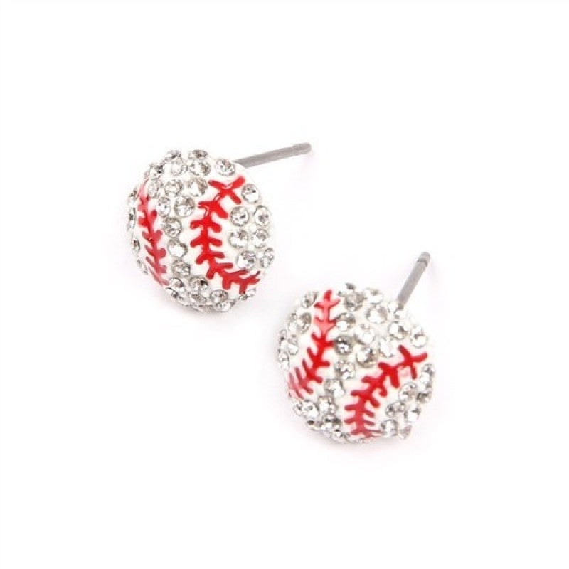 Sports Studded Earrings