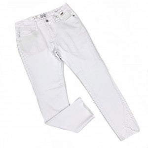 "Judy Blue ""Guess Who's Back"" White Tulip Jeans"