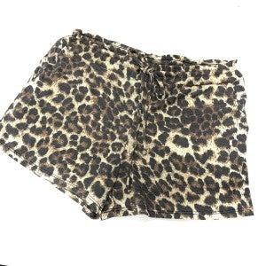 Run Wild Leopard Shorts