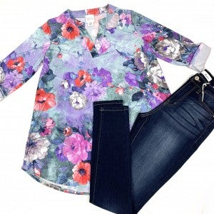 More Than Yesterday Floral Top