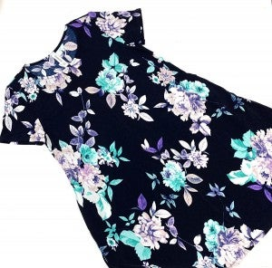 Today's the Day Floral Dress