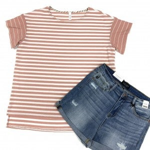 A Perfect Feeling Striped Top