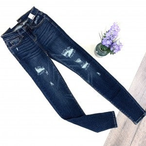 Judy Blue Fuse Patch Skinny Jeans