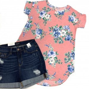 The Story of Us Floral Top