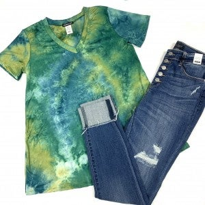 Into The Forest TieDye Top