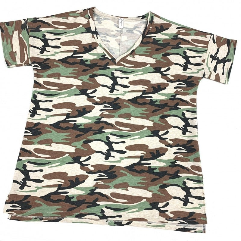Above The Ranks Camo Top