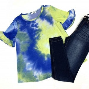Island Escape TieDye Top