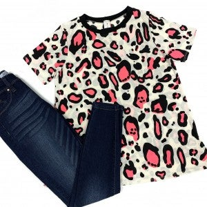 Party Animal Leopard Top