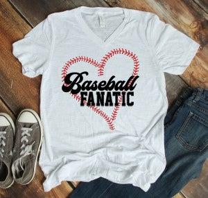 Baseball Fanatic Tee