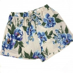 My Fondest Memory Floral Lounge Shorts