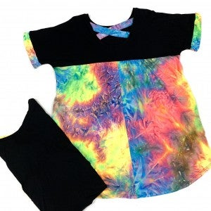 Sunset Encounter TieDye Top