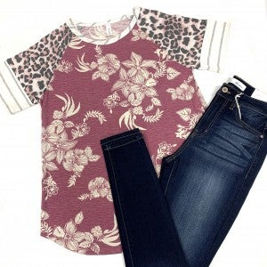 Exotic Paradise Floral Top
