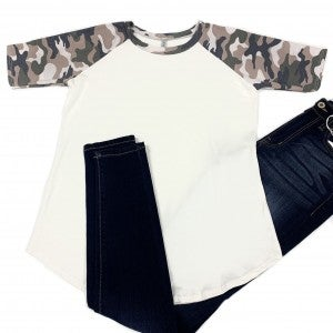 Fight For You Camo Top