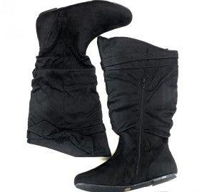 Wild Diva Suede Boots