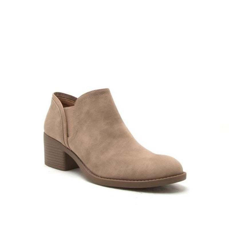Stone Distress Bootie