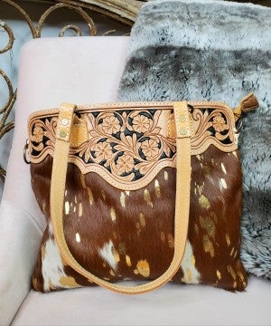 American Darling hand Tooled Bag
