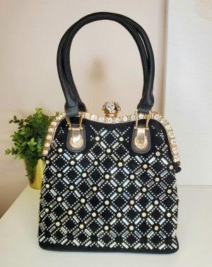 Ruby Collection - Stud detail handbag