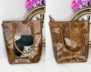 American Darling - Leather medium handbag