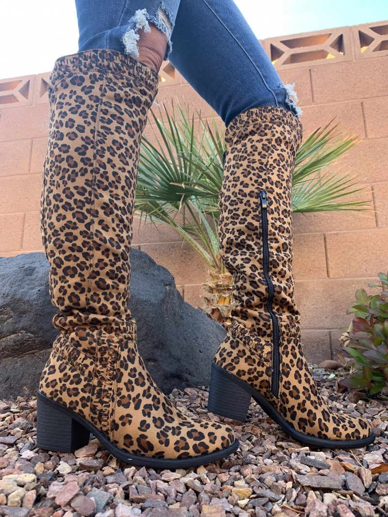 Corky's- Ladder knee high boots