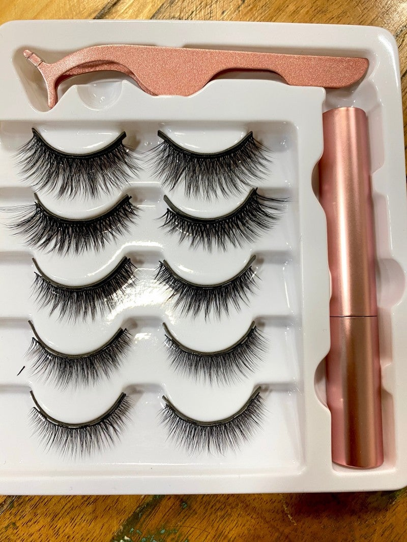 5-pack Magnetic Eyelashes - Classic and Volume