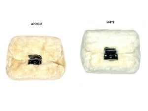 SImply Obsessed-  Mink fur clutch purse