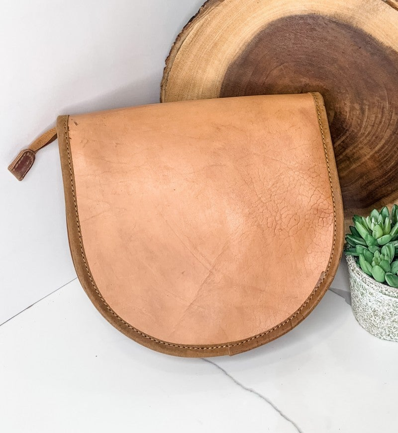 American Darling - Hand crafted leather work detailed bag