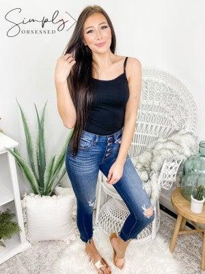 Kancan - Gemma high rise R&B skinny jeans