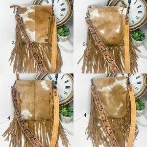 American Darling - Tassel detail cross body bag