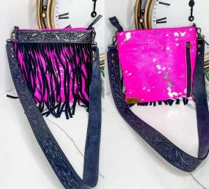 American Darling - Small crossbody handbag with fringe