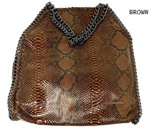 Hello 3 am - Snake skin hobo bag