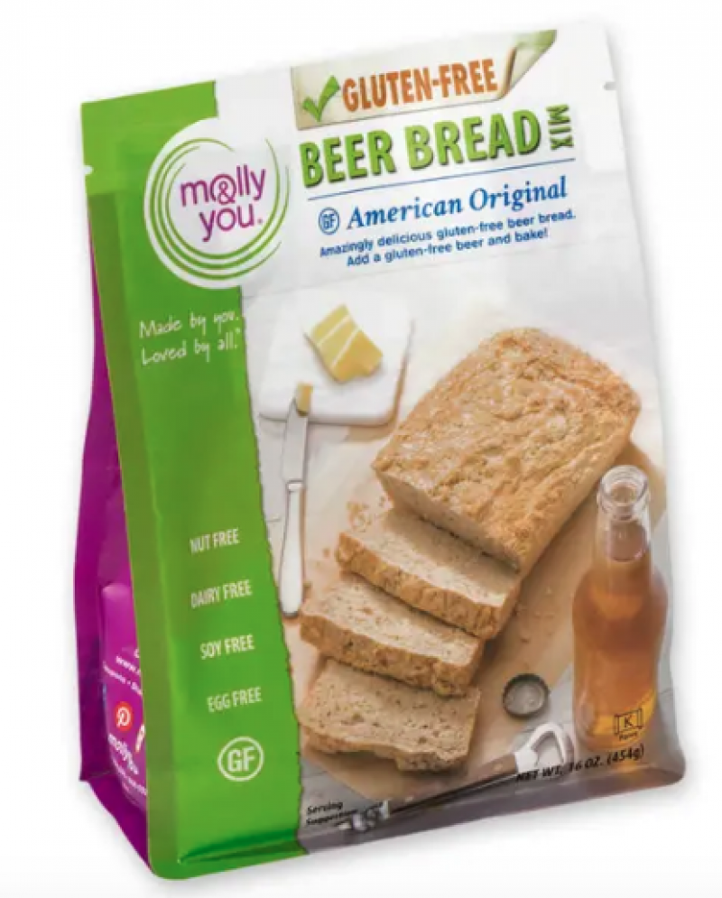 Molly & You - Beer Bread Mix Gluten Free