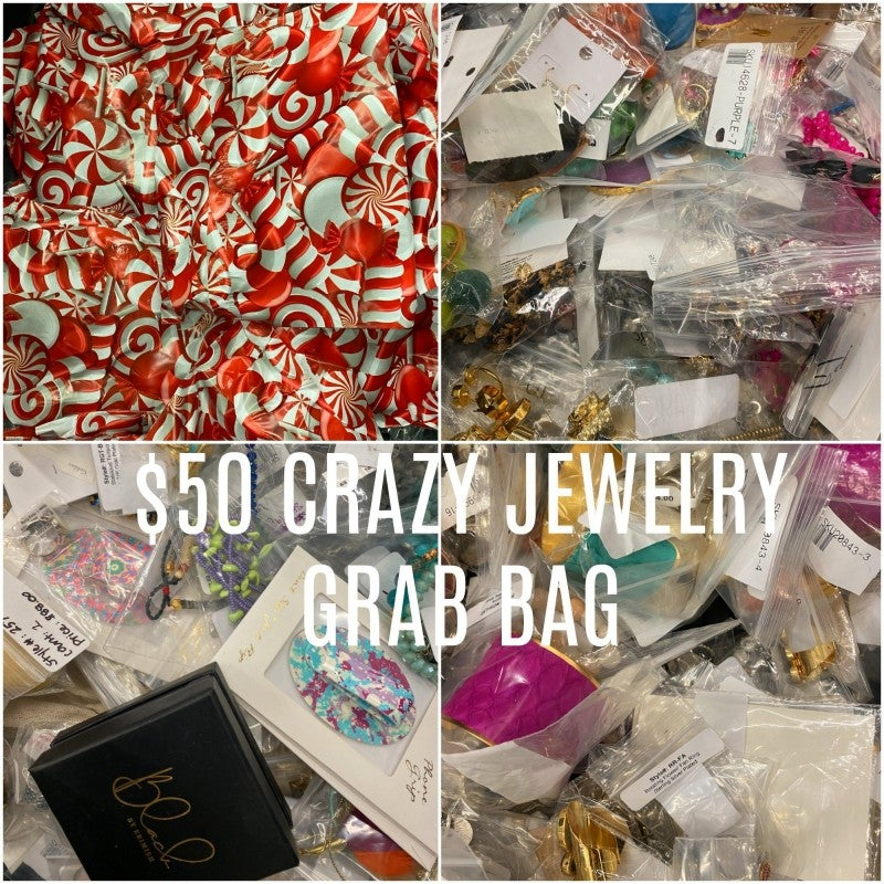 $50 JEWELRY GRAB BAG with at LEAST 6 PIECES of Jewelry WORTH WAY HIGHER VALUE!!!!