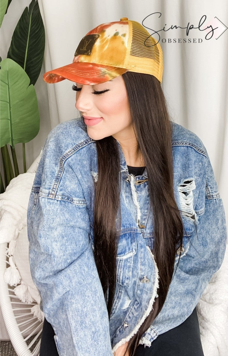 Up-Cycled Trucker Cap