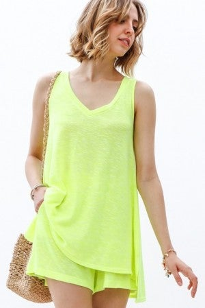 My Story - Neon Tunic Top