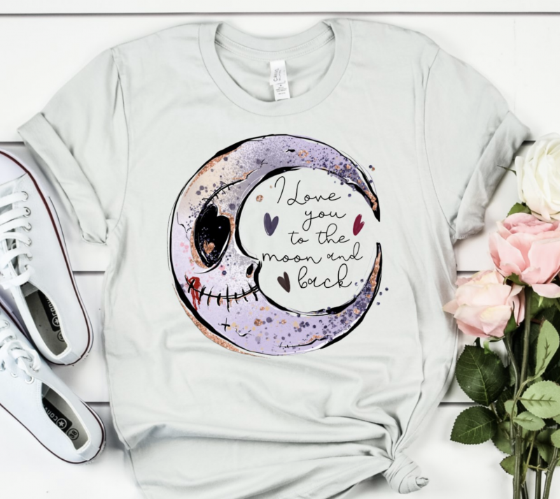 Love You to the Moon and Back Top - All Sizes You MUST AUTHORIZE to get one!