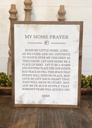 My Home Prayer