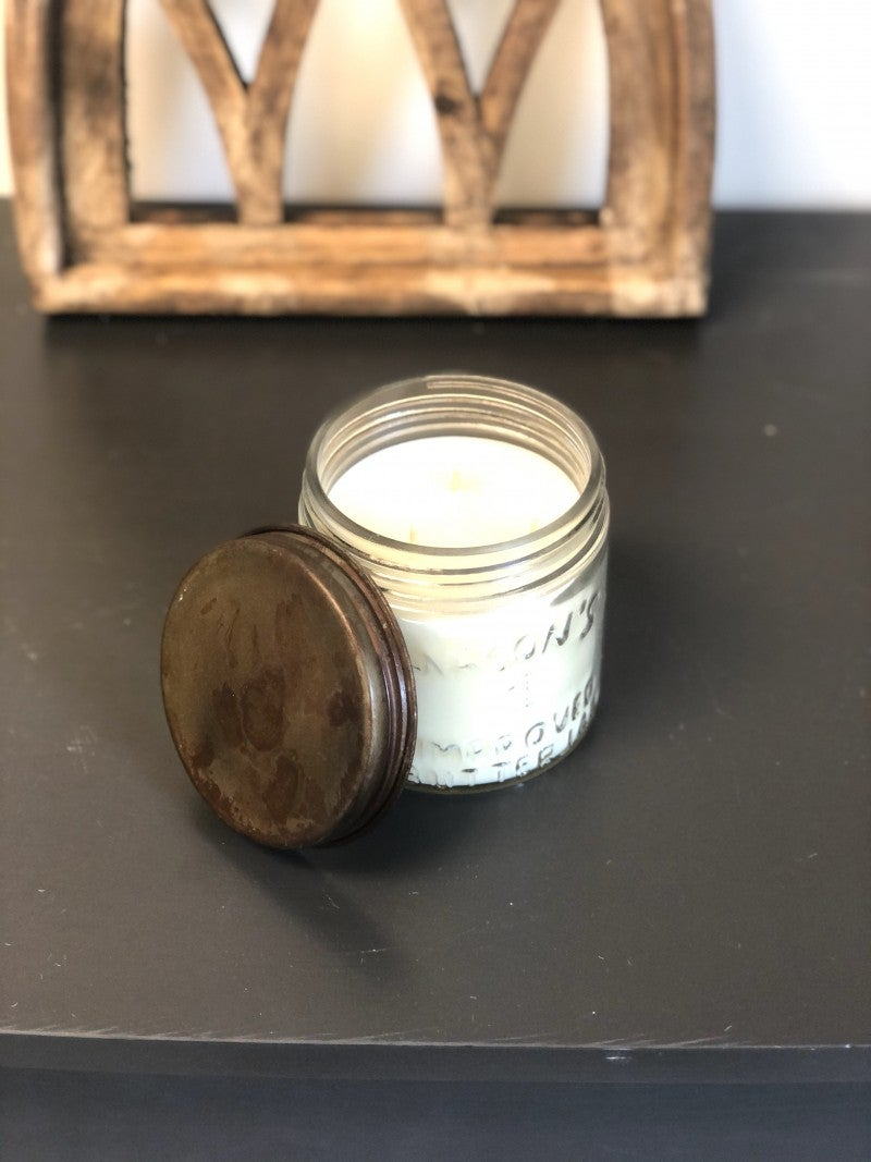 Rusty Top Jar Candle- SWG Exclusive Scent
