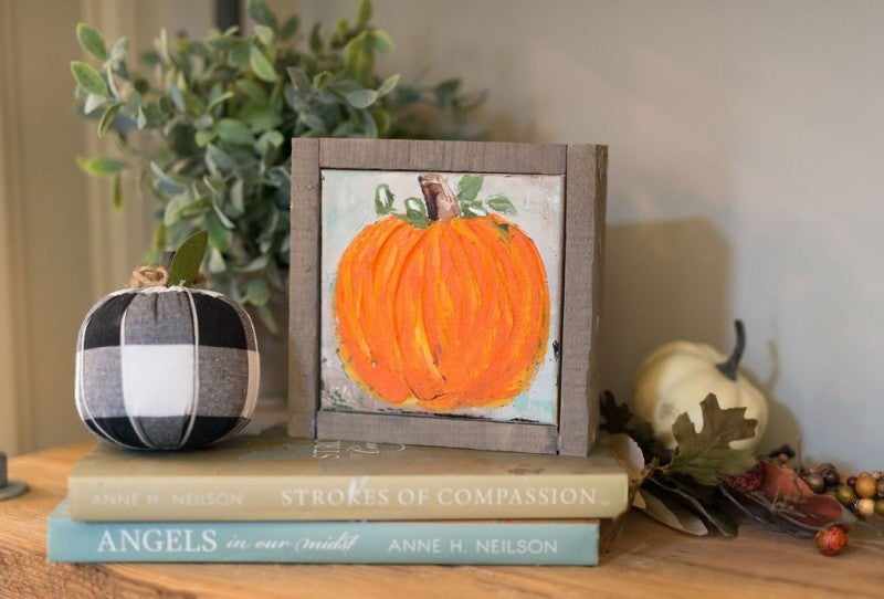 Fall Pumpkin Canvas